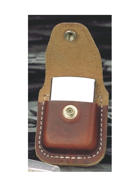 Zippo leather bag brown